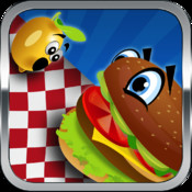 Flying Food Fight Dash Pro - Hungry Restaurant Diner Mania (Best Kids Game) fight mania