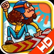 Fun Snowboard Race for iPad - Multiplayer Game fun run multiplayer race