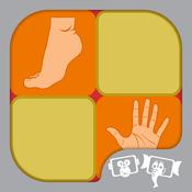 Kids Memory Match : BodyParts memory