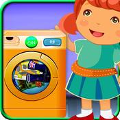 Kids Laundry Washing Clothes