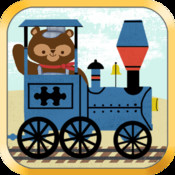 Train Games for Kids: Zoo Railroad Car Puzzles