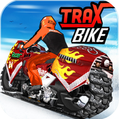 Trax Bike Racing ( 3D Speed Sports Bike race offroad stunts game on Fast Ice tracks )