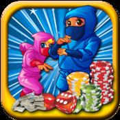 Ninja Slots - Fire Age Slot Machine Game For Ninjas War To Win XP LT Free