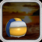 3D Volley-Ball Beach Juggle Game - By Cool Top Boy Girl and Teen-ager Apps