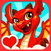 Dragon Story: Valentine`s Day dragon story
