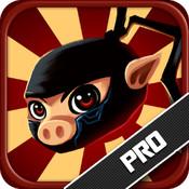 Ninja Pig: Attack of the Samurai Birds Pro mad birds pursuit