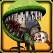 Monster Triffid Plants Chasing Zombies
