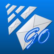 AltaMail Go for iPhone inbox