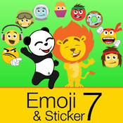 Emoji & Sticker 7 Emoticons and Sprites for Messaging sprites
