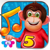 5 Little Monkeys - All In one Educational Activity Center and Sing Along