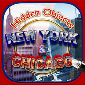 Hidden Objects – New York to Chicago Adventure & Object Time Puzzle Free