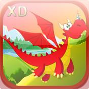Addictive Baby Dragon Glider XD - A Cute Creature Chase Adventure
