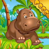 Happy Hippo Jumping & Running Pro - Addictive Endless Running Game!