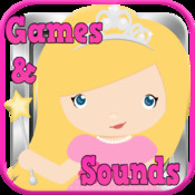 Princess Games For Toddlers! Princess Pet Rescue, Princess Sounds, Princess Puzzles & Princess Match Games princess