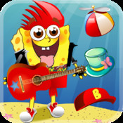 The Little Square Cartoon Sponge -Play Under the Sea Cool Style Stars World Ad Free Game