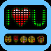 ScrollIt: type and display scrolling messages with emoticons scrolling text ticker