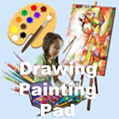 Drawing and Painting Pad.Kid Drawing Pad.Kid Painting Pad