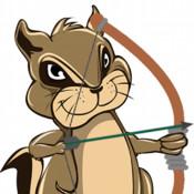 Smores Archery, Bow and Arrow Chipmunks Game