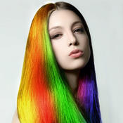 Hair Color Effects - Selfie Makeover Camera to Dye & Beautify Hairstyle