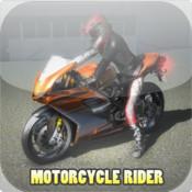 Motorcycle Rider - Highway