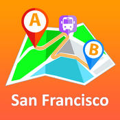 San Francisco Offline Map + City Guide Navigator, Attractions and Transports