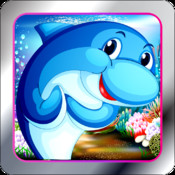 Dolphin Dash - Show The Shark How To Play In Paradise!