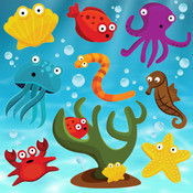 Fishes Puzzles for Toddlers and Kids FREE