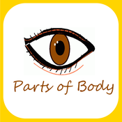 Parts Of Body Learning For kids Using Flashcards and Sounds-A human anatomy learning app