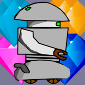 Robot Saga: Diamond dash. Best of all platform games. Solve the extreme puzzle, become level builder. Escape from angry robots. The invader carry a bomb that can explode next to you. Jump to different platforms. Explore crazy levels with this super game.