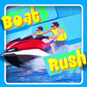 Boat Rush - Extreme Crash and Panic on Blue Ocean Surf Water