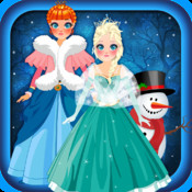 Magic Snow Queen Ice Princess Fashion Castle Game - Free Girls Edition Ad Free free magic