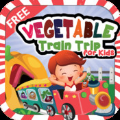 Vegetable Train Trip for Kids