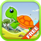 Turtle Run FREE - Baby Addictive Endless Running Game
