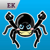 Emoji Kingdom 16 Spider Halloween Emoticon Animated for iOS 8 emoticon sticker