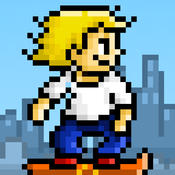 Super Jumpy Joy ~ Endless Skateboarding Game FREE
