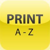 PRINT A-Z
