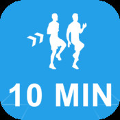 10 Minute HIIT Workout High Intenisity Interval Training Calisthenics Challenge : Full Fitness exercise workout trainer and fitness buddy, home, on-the-go personal mobile fitness trainer, weight loss for Health