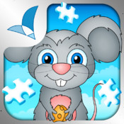 123 Kids Fun PUZZLE BLUE - Top Educational Puzzle Games for Toddlers and Preschool Kids