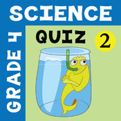 4th Grade Science Quiz # 2 for home school and classroom