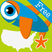 Smart Fish: States Run FREE - learn United States geography in this fast-paced game