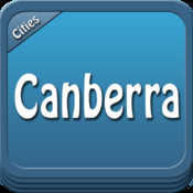 Canberra Offline Map Travel Guide