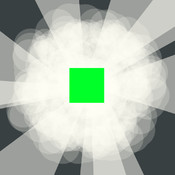 Square Bound - Jump on Blocks and Avoid Spinning Squares
