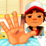 Hand Surgery With Subway Surfers Edition