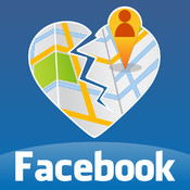 iPostMap - find out who blocked/canceled you & map friends from Facebook friends