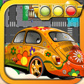Traffic Police Direct Traffic for Christmas Day - Top Car Racer Game traffic