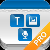 Tri Note Pro - Text, Photo, Voice in one note finance note photo