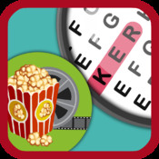 Word Search Puzzles Colorful + A fun & little movie game books for kids