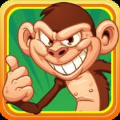 Bananas Run : Escape Evil Monkeys & Cute Baby Chimps