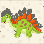 Dinosaur Shape Puzzle - Educational Learning Games For Kids In Preschool & Toddlers Free