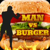 Man vs Burger sky burger